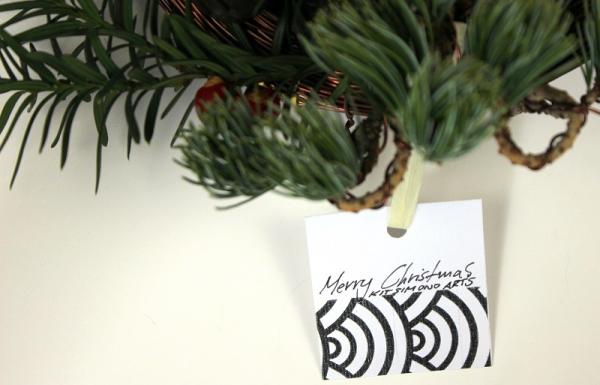 bonsai advent karacsonyi koszoru