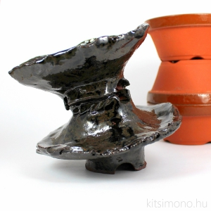 kaskade, shohin, bonsai, kusamono, keramia, tal, pot, kitsimono, handmade, glased, mazas
