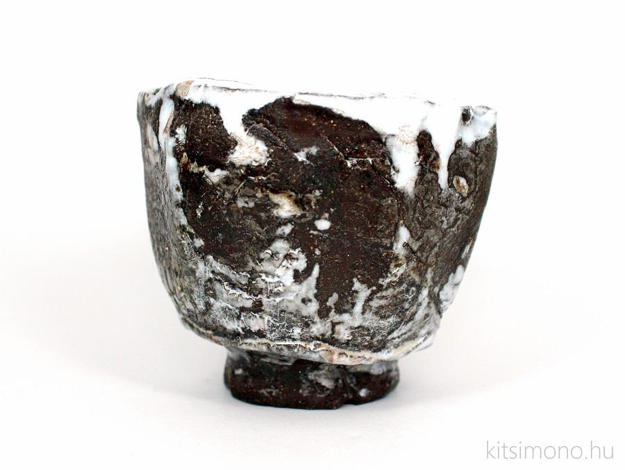 japan, tea, keramia, csesze, chawann, chawan fadobozzal, wooden box, kitsimono, sake