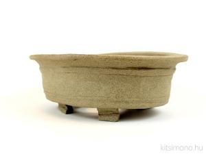 handmade unglazed kitsimono oval bonsai pot vásárlás rendelés