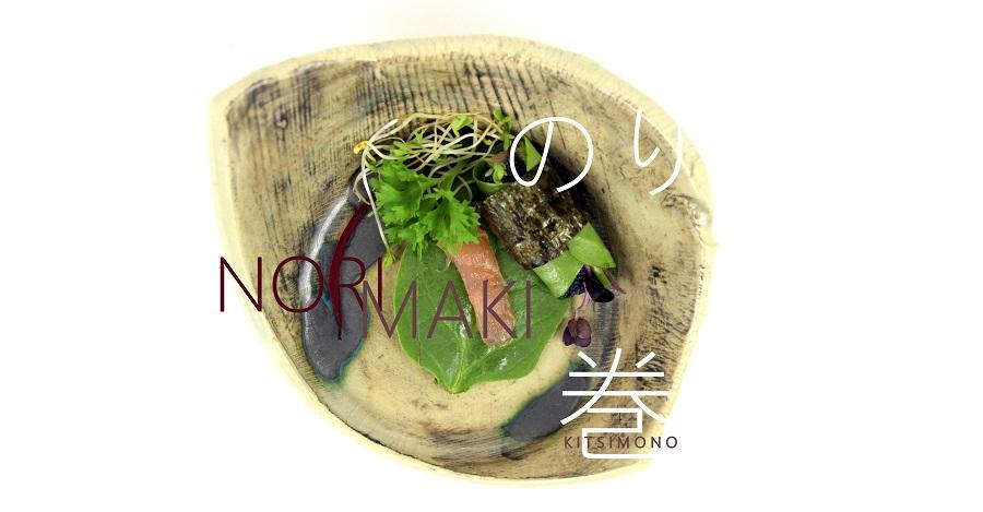 japan etelek keramia talakhoz kitsimono gasztro blog nori kaviar lazac maki (2)