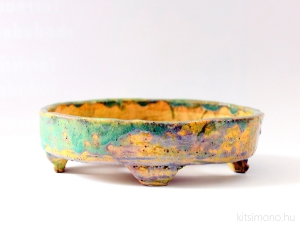 Kitsimono shohin bonsai pot 01