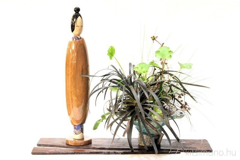 kokeshi bonsai kusamono kitsimono handmade (7)