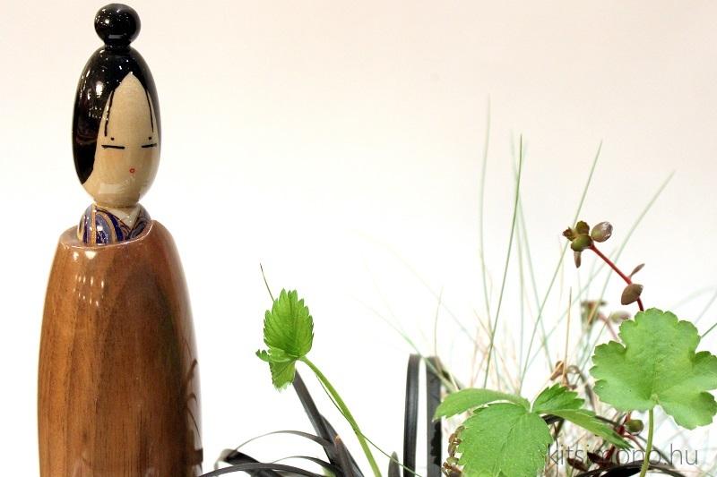 kokeshi bonsai kusamono kitsimono handmade (8)