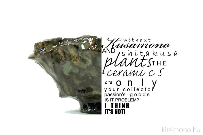 kusamono ceramic and shitakusa dish kitsimono