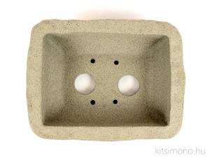 handmade unglazed kitsimono rectangular bonsai pot vásárlás rendelés