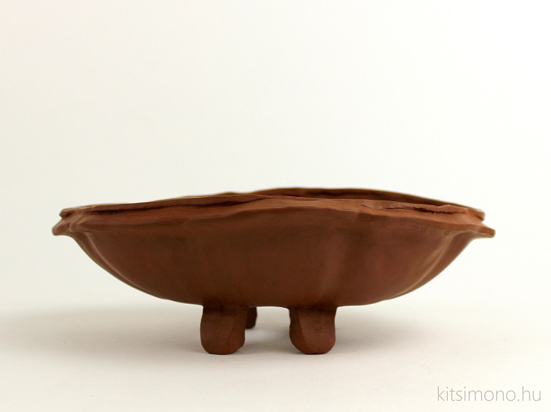 shohin bonsai pot bowl bonsai tal unglazed kitsimono (8)