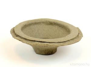 handmade unglazed round kitsimono bonsai pot vásárlás rendelés
