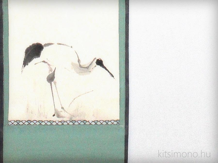 wallscroll tekercskep japan kakemono kitsimono art studio