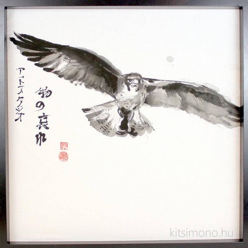 sumi e sumie sumi ink painting kitsimono art studio japan tusfestmeny (3)